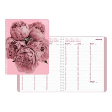 Brownline Pink Ribbon Appointment Book 11