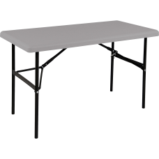 SKILCRAFT Blow molded Folding Table Rectangle
