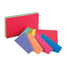 Oxford Ruled Extreme Index Cards 3