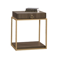 Sauder International Lux Square Side Table