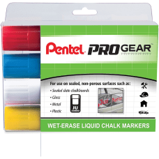 Pentel PROGear Wet Erase Liquid Chalk