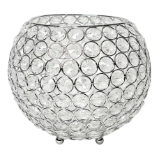 Elegant Designs Elipse Crystal Bowl 6