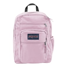 JanSport Big Student Laptop Backpack Pink