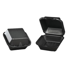 Genpak Snap It Foam Hinged Carryout