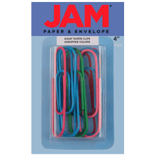 JAM Paper Giant Paper Clips 4