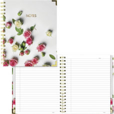 Rediform Romantic Notebook Roses Recycled 1Each