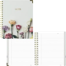 Rediform Romantic Notebook Flowers 180 Pages