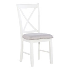 Powell Jacek Side Chairs WhiteGray Set