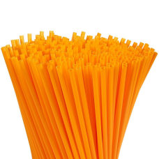 Juvale 300 Pack Plastic Orange Disposable
