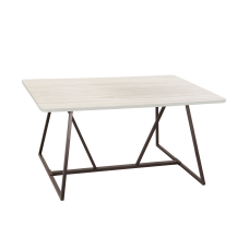 Safco Oasis Sit Height Teaming Table