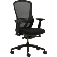 Allermuir Ousby Ergonomic Fabric Mid Back