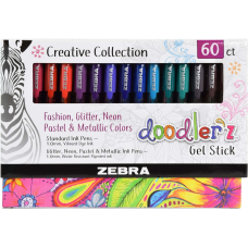 Zebra Pen Doodlerz Gel Stick Pen