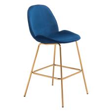 Zuo Modern Siena Bar Chairs Dark
