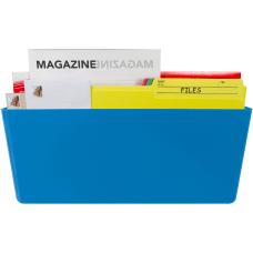 Storex Magnetic Wall Pocket Blue 1