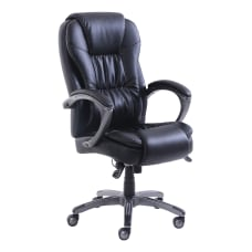 Lorell Active Massage Bonded Leather Chair
