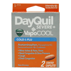 DayQuil VapoCOOL Cold Flu Relief Medicine