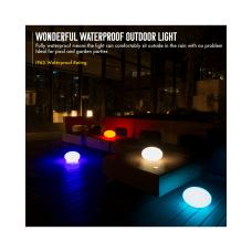 INNOKA 17 LED Waterproof Rechargeable Glow