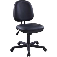 Lorell Vinyl Task Chair Vinyl Seat