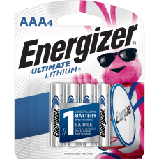 Energizer Ultimate Lithium AAA Batteries For