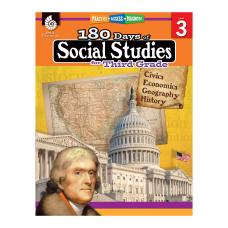 Shell Education 180 Days Of Social