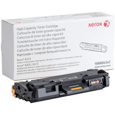 Xerox Toner Cartridge Black Laser High