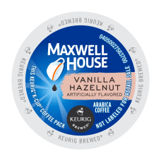 Maxwell House Vanilla Hazelnut Single Serve