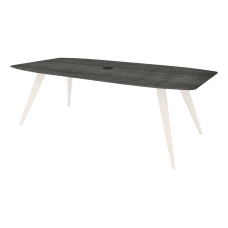 Lorell 72 Rectangular Conference Tabletop Charcoal