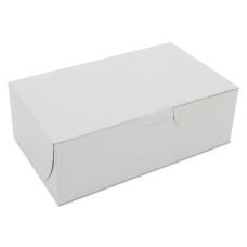 SCT Bakery Boxes White Pack Of