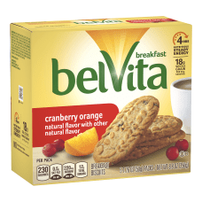 BELVITA Breakfast Biscuits Cranberry Orange 5