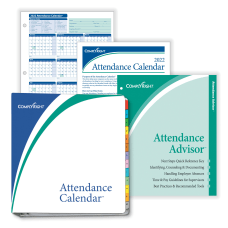 ComplyRight 2020 Attendance Calendar Kit 8
