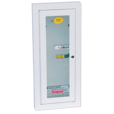 Extinguisher Cabinets Semi Recessed wKeyed Lock