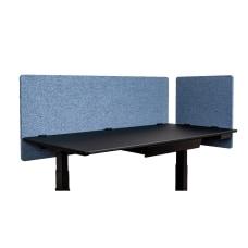 Luxor RECLAIM Acoustic Privacy Desk Panels