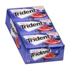 Trident Sugar Free Wild Blueberry Twist