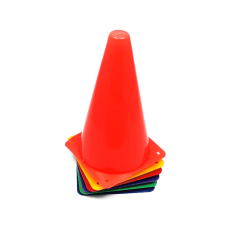 Champion Sports High Visibility Plastic Cones