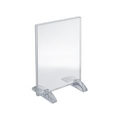 Azar Displays Dual Stand Acrylic VerticalHorizontal