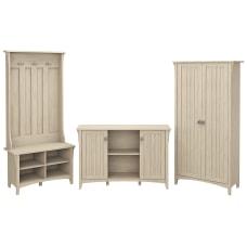 Bush Furniture Salinas Entryway Storage Set