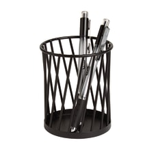 Realspace Black Wire Pencil Cup