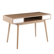 LumiSource Pebble 48 W Double Desk