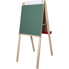 Flipside Childs Deluxe Double Easel WhiteGreen