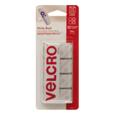 VELCRO Brand STICKY BACK Fasteners Squares