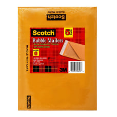 Scotch 100percent Recycled Padded Mailers 6