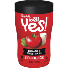 Campbells Tomato Sweet Basil Sipping Soup