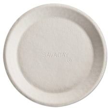 Chinet Savaday Molded Fiber Plates 10