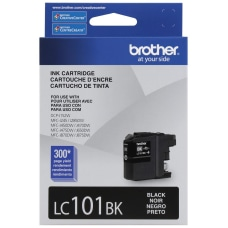 Brother LC101BKS Black Ink Cartridge