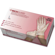 Medline MediGuard Vinyl Non sterile Exam