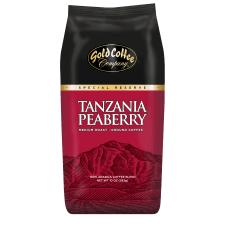 Gold Coffee Company Tanzania Peaberry Ground