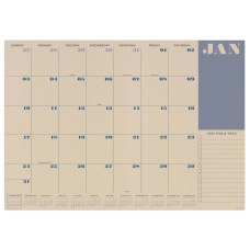 TF Publishing Monthly Medium Desk Pad