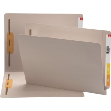 Smead End Tab Colored Fastener Folders