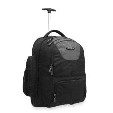 Samsonite Wheeled Backpack CharcoalBlack