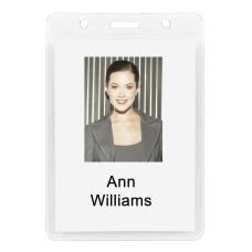 Office Depot Brand Plastic Badge Holders